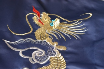 Close up of Dragon's head