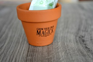 Grow Your Own Magick Plant Pot