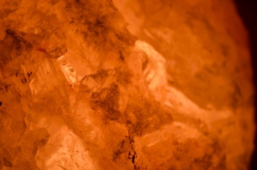 Himalayan Salt Lamp close up