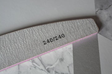 240 grit nail file