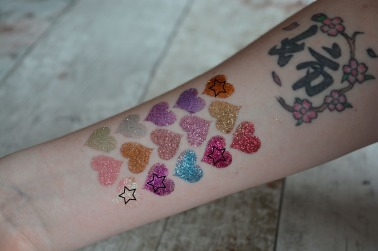 Glitter Swatches - favourites